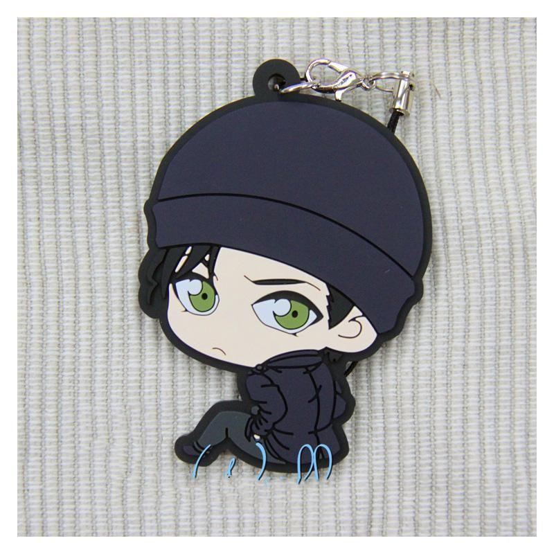 Detective Conan Furuya Rei Akai Shuuichi Bourbon Hold Keychain Keyring Bag Strap