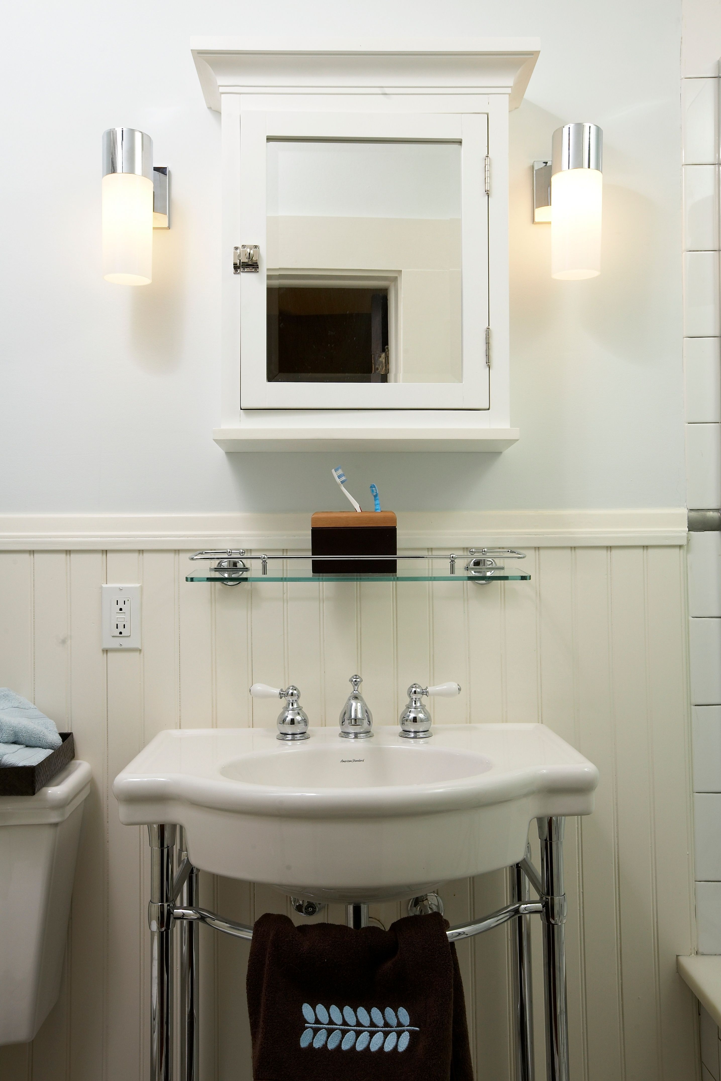 S Art Deco Styled Bath Completed Projects Pinterest Art - 1920s bathroom remodel