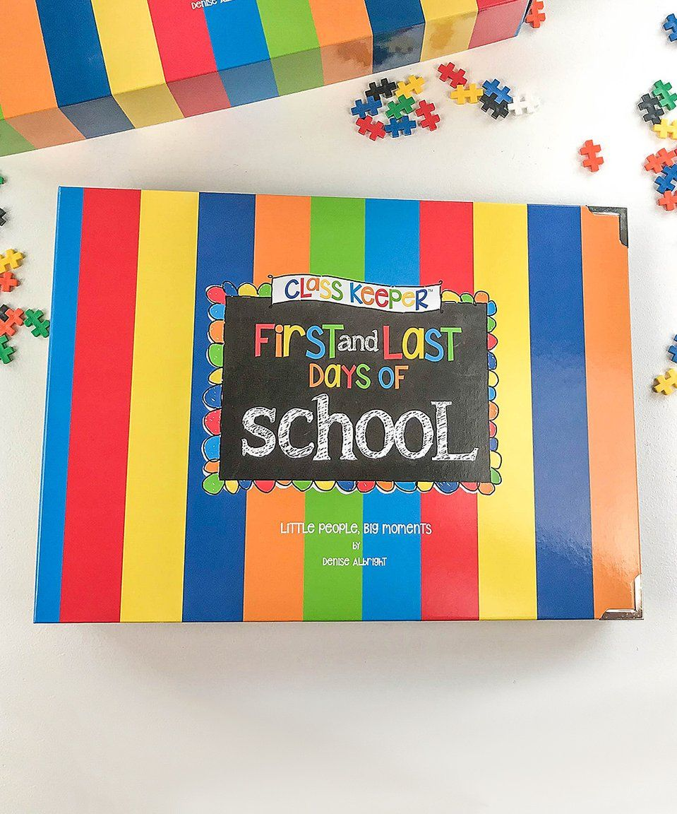 Take A Look At This Stripe School Days Memory Book Today Memory Books School Days Homeschool Learning