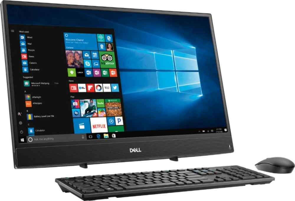 """Only 5 left! Free shipping 2019 New Flagship Dell Inspiron 22"""" All-in-One Touchscreen Desktop ..."""