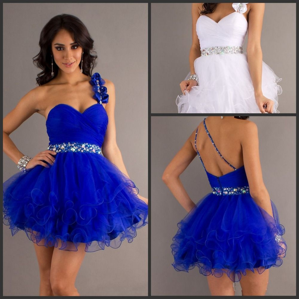 Short blue homecoming dresses with strap google search lovely