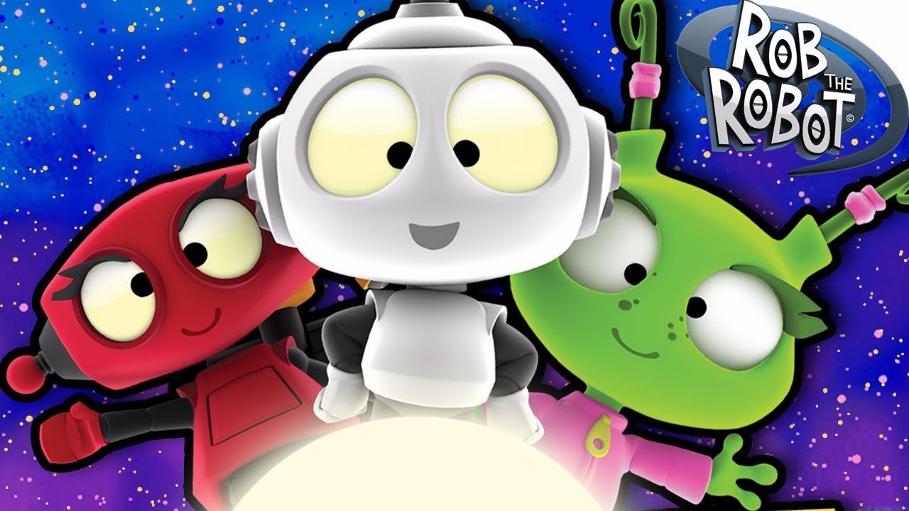 Cartoon  An HOUR with Rob The Robot  Funny Cartoons For Children