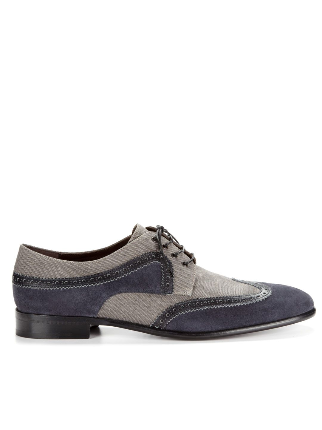 c3fe306e1e020 These are so hot. Bourges Lace-Up Wingtips by Salvatore Ferragamo on ...