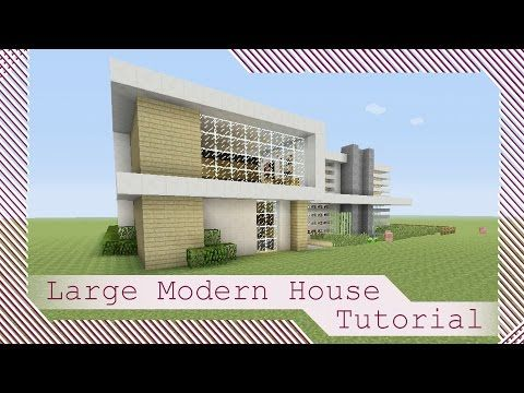 Large Modern House Tutorial 1 Minecraft Xbox 360Xbox OnePS3