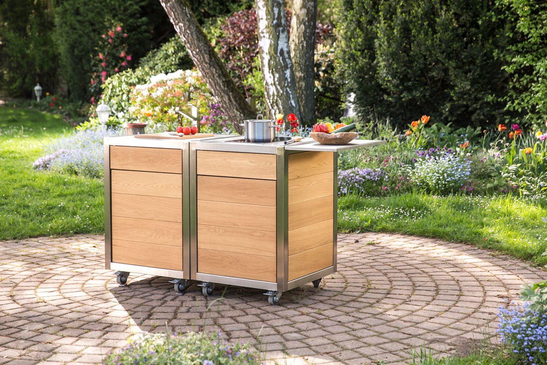 Innenarchitektur Wohnwert Küchen Beste Wahl Die Mobile Küche Neoculina Von Im Garten