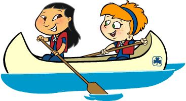 banner of clipart of kids canoeing   11/4/2010 1:29 PM ...