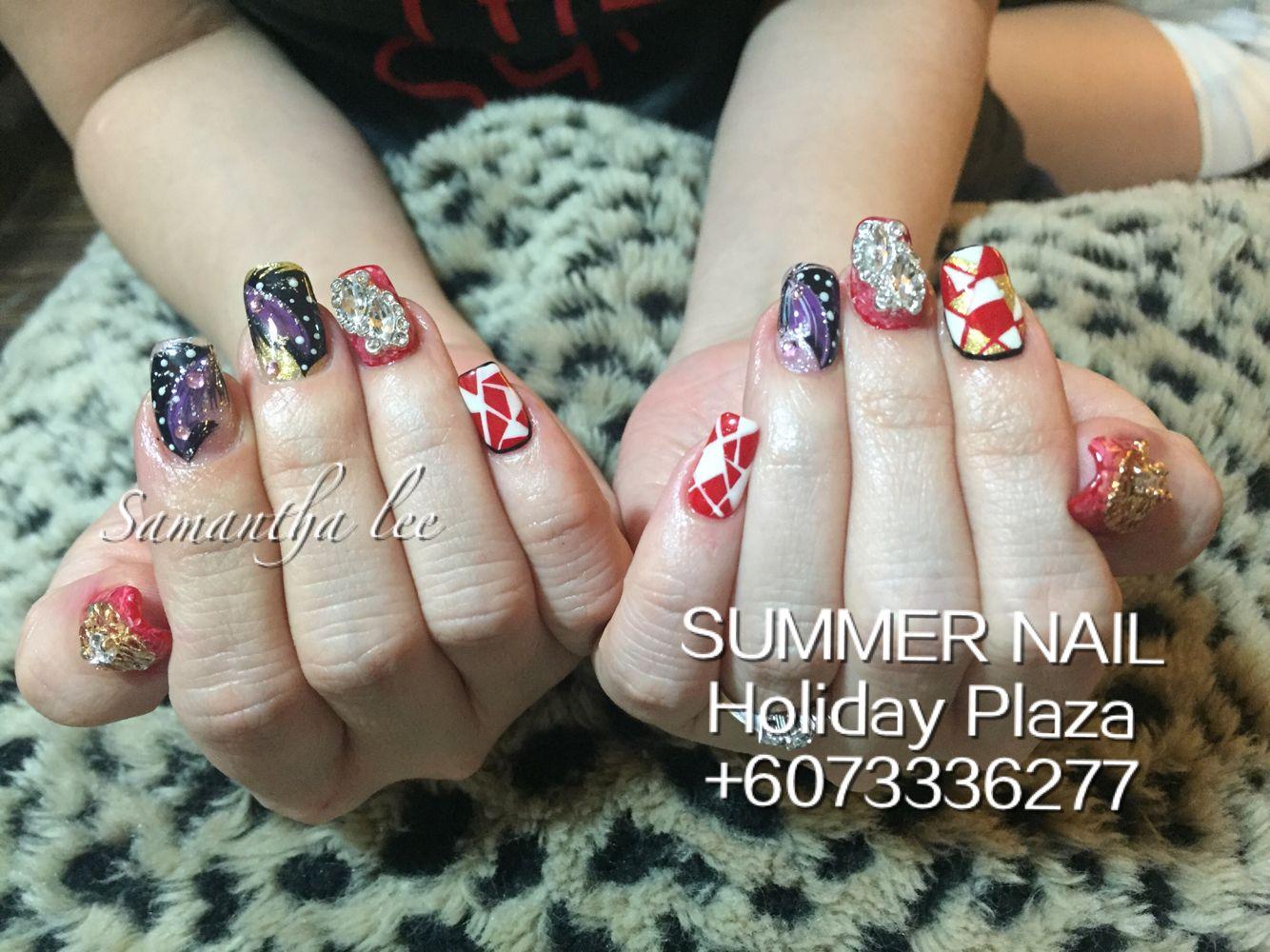 Summer Nail Holiday Plaza Mcdonald S Upstairs 3rd Floor 6073336277 Whatsapp 60163188359 Instagram Summernai Gel Pedicure Gel Manicure Artificial Nails