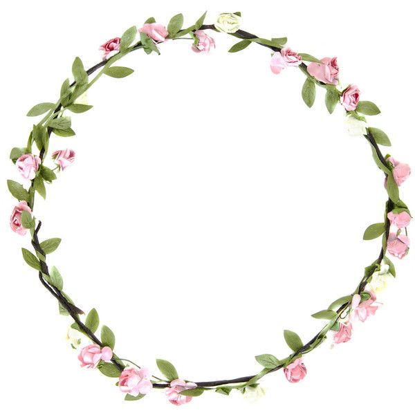 flower crown 4 99 liked on polyvore featuring accessories rh pinterest com