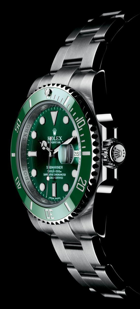 46f0d8f39ff The Watch Quote  The Rolex Oyster Perpetual Submariner Date watch with  black or green surface - citizen watches