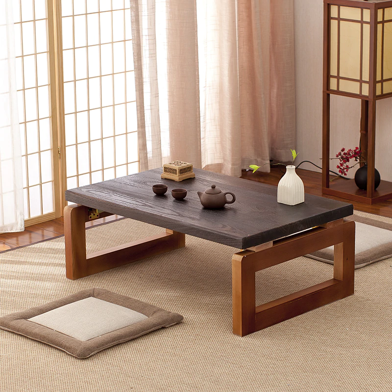 Vintage Wooden Table Foldable Legs Rectangle Living Room Furniture Asian Antique Style Long Bench Low Coffee Folding Table Wood - buy at the price of $92.07 in aliexpress.com