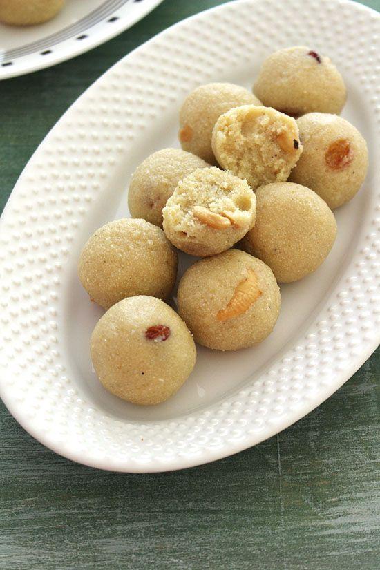 Rava Laddu Recipe (Ladoo with Condensed Milk)