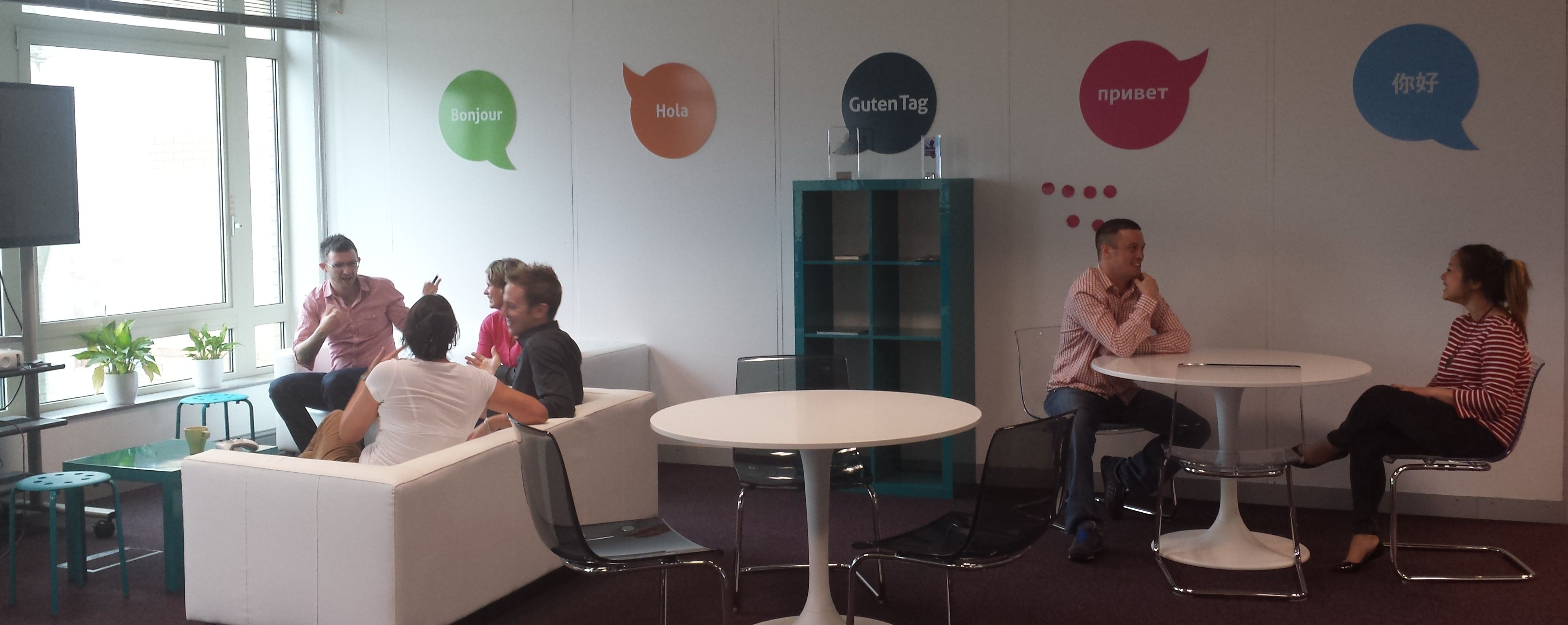 And Here S Our New Relaxing Meeting Zone We Ve Also Got A New