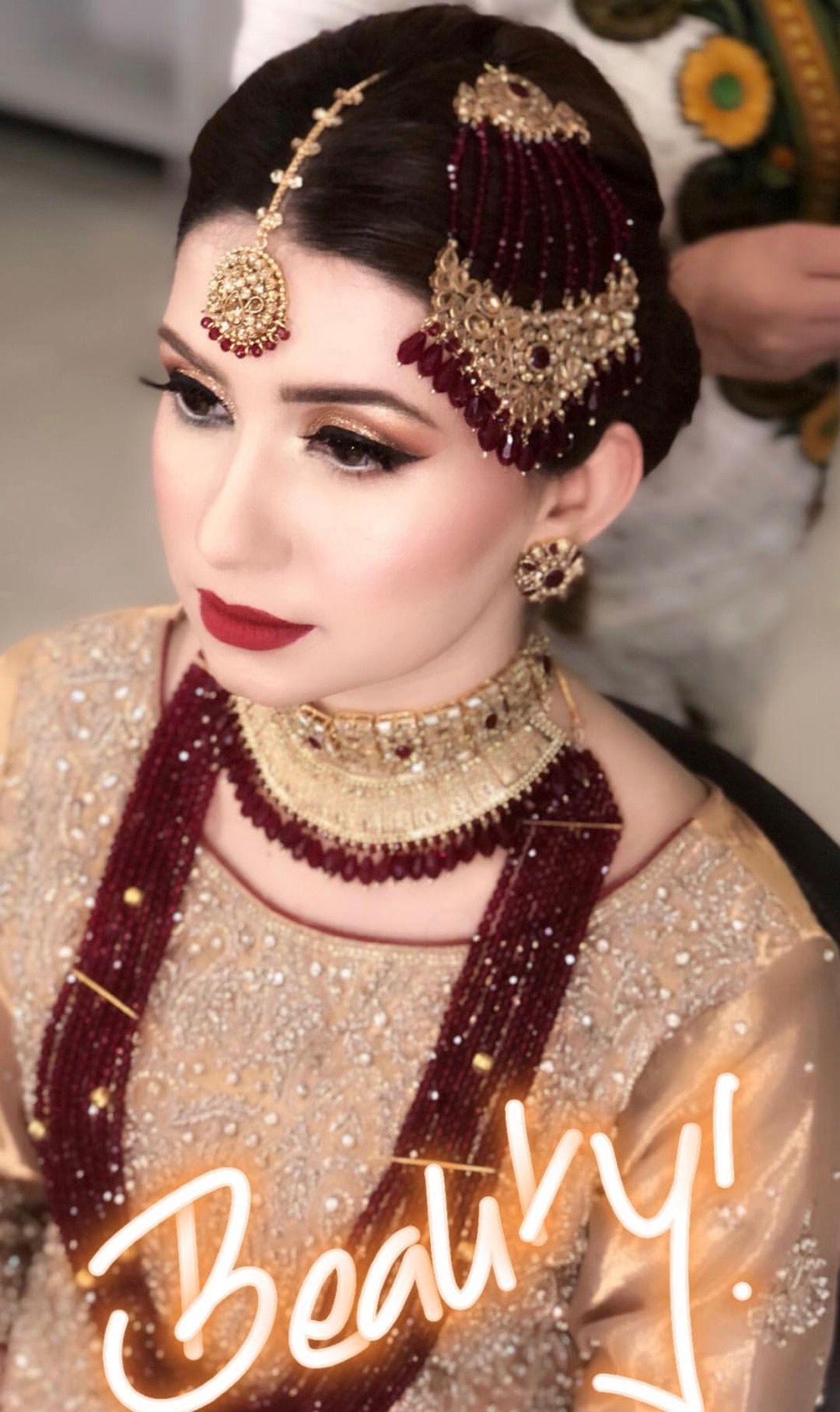 Pin By Sami F On M A K E U P Pakistani Bridal Jewelry