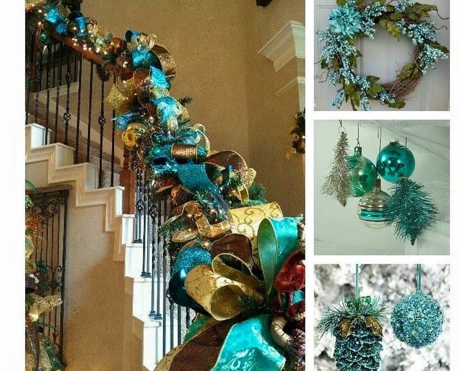 Pin by rachel moore on Christmas by Thomas Kinkade Pinterest - peacock christmas decorations