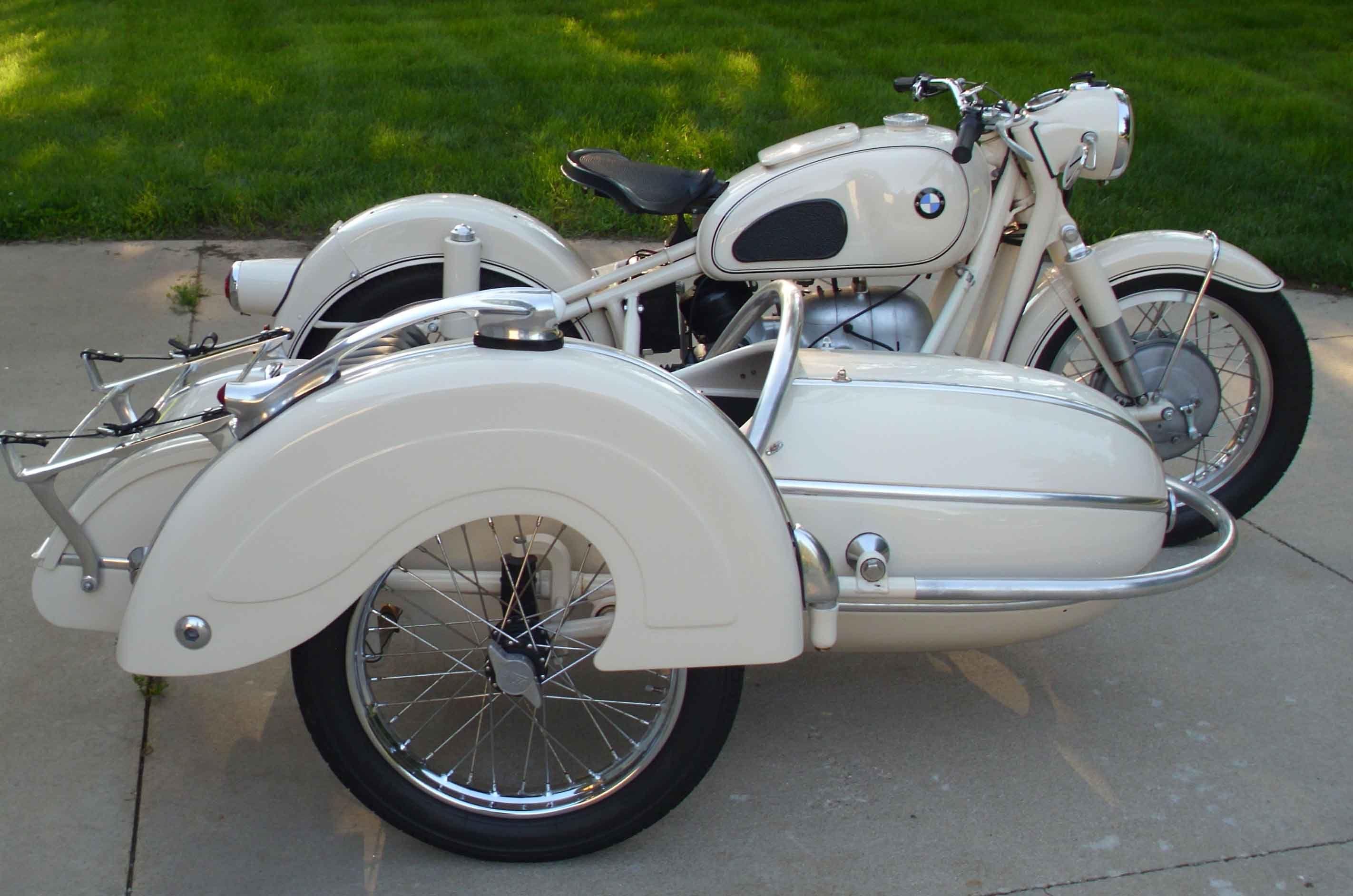1966 bmw r60/2 with steib s 500 sidecar | no harleys | pinterest