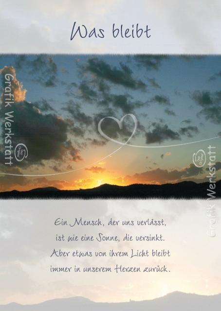 Artikel - Grafik Werkstatt Bielefeld | Trauer Sprüche | Pinterest ...