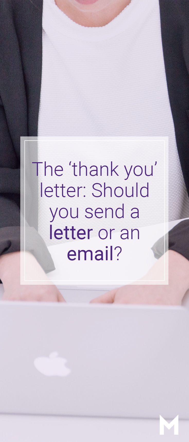 Job Interview Thank You Letter Vs Email  Job Search Etiquette