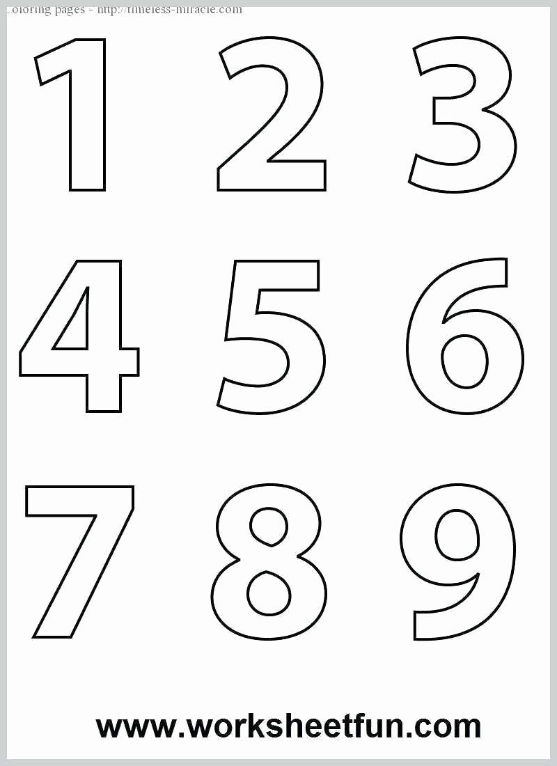 Coloring Page Number 9 Beautiful Coloring Pages Of Numbers For