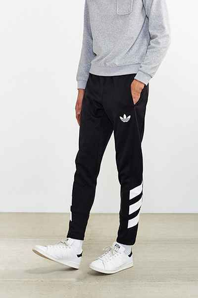 3023f55df68 adidas Originals Trefoil FC Track Pant - Urban Outfitters Black Adidas
