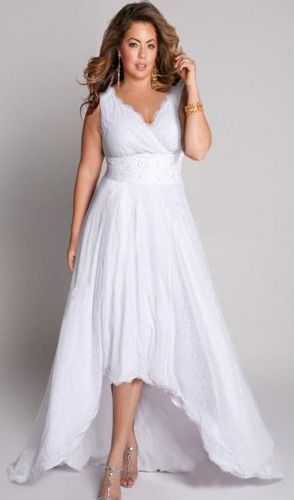 Robes mariage femmes rondes