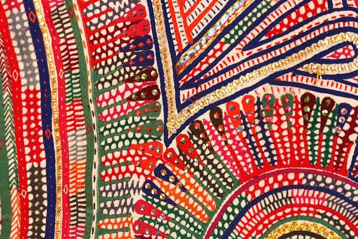 Rabari embroidery from Kutch, Gujarat, India