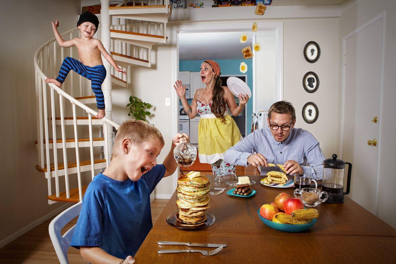Доброе утро семья картинки прикольные необычные