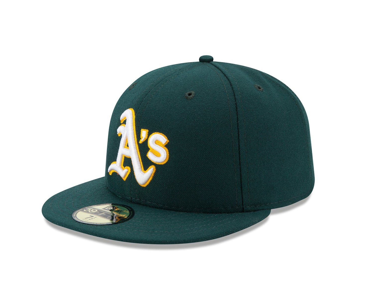 MLB Oakland Athletics Alt AC On Field 59Fifty Baseball Cap Azul 7 5 8   Amazon.com.mx  Deportes y Aire Libre ae44c5ef507