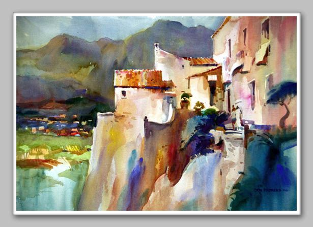 Don Andrews Watercolor Artist Painting Art