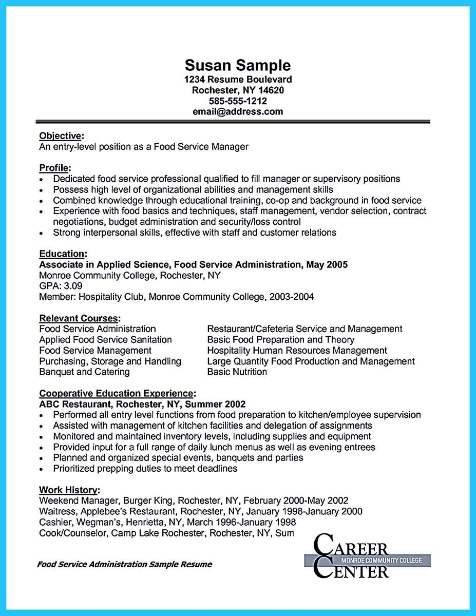 Cool Expert Banquet Server Resume Guides You Definitely Need Resume Guide Resume Resume Examples