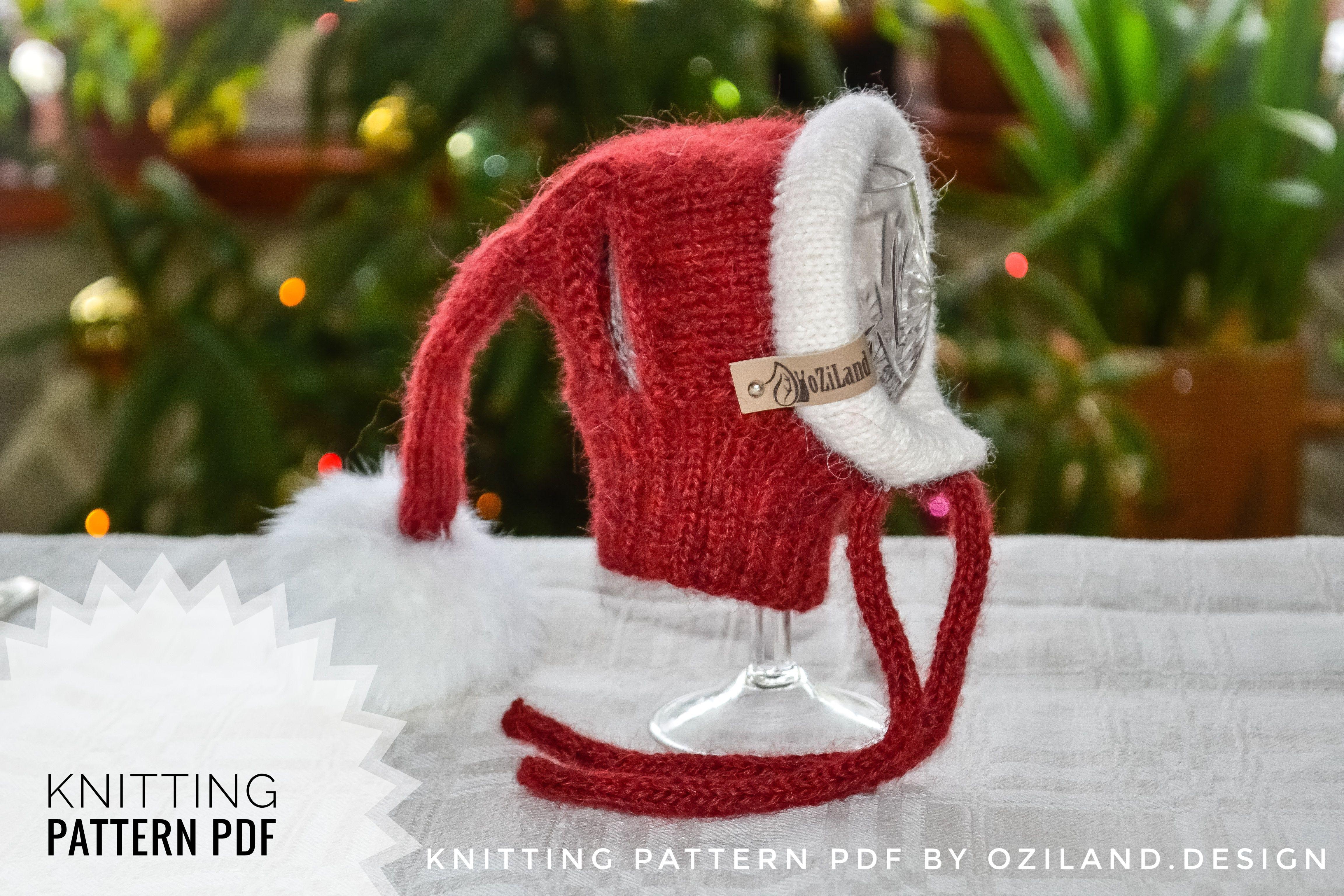 Santa Dog Hat Pattern By Olga Kudrjavceva Dog Snood Dog Hat Santa Dog