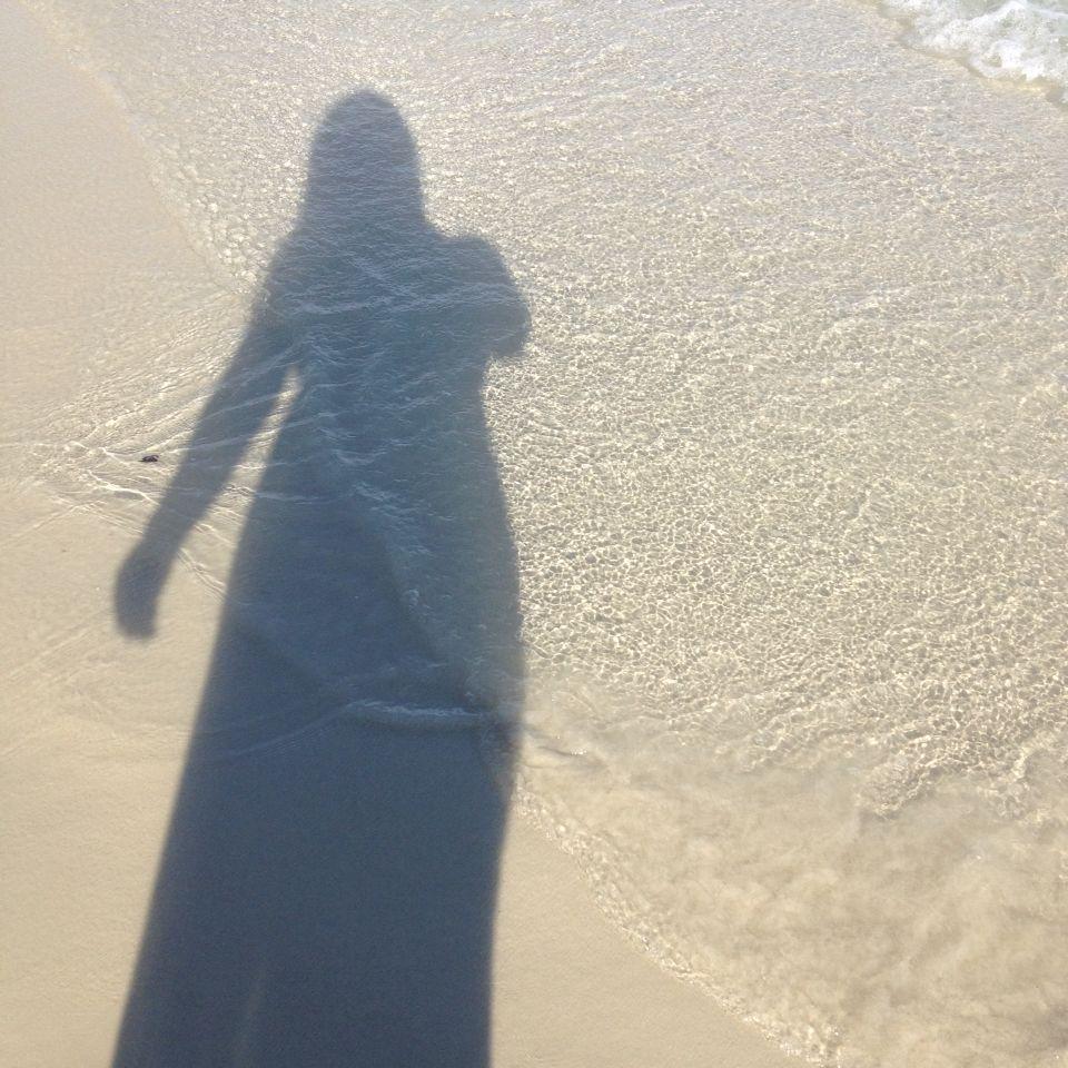 Loving my long beach dress silhouettes