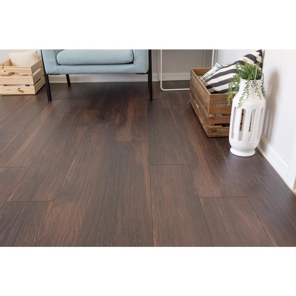 Home Decorators Collection Hillborn Hickory 12mm Thick X 8 03 In Wide X 47 64 In Length Laminate Floori Home Decorators Collection Flooring Laminate Flooring