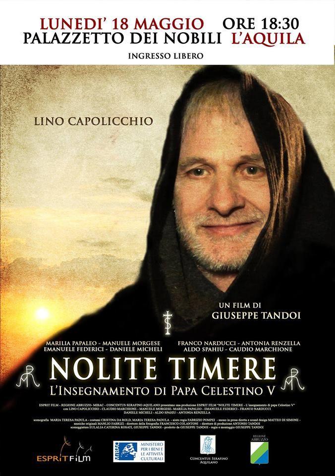 "Platea Medievale: ""Nolite Timere"" proiezione a L'Aquila"