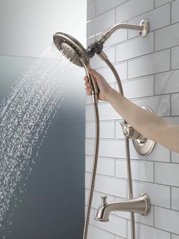 Delta T17494 I In 2020 Tub Shower Faucets Shower Tub Shower
