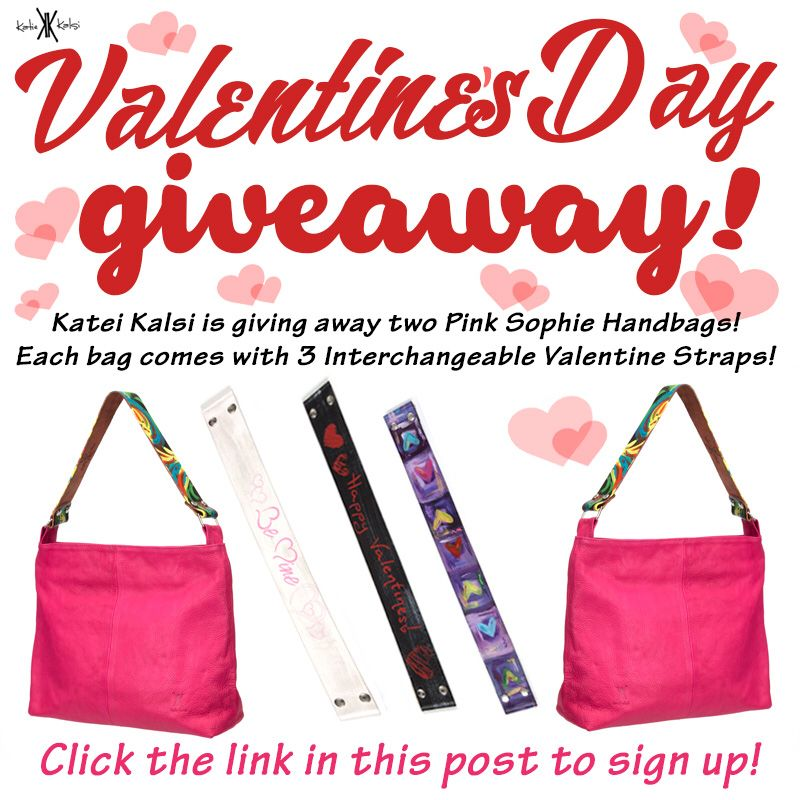 Win A Katie Kalsi Pink Sophie Handbag Just Sign Up For The Style Squad By February 13th Your Chance To We Will Be Selecting Two Lucky Winners On