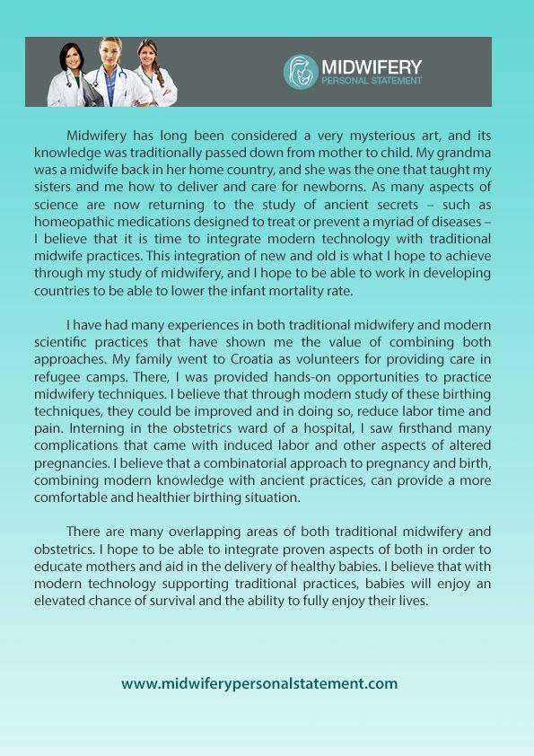 Pin By Midwifery Personal Statement Writing On Midwifery