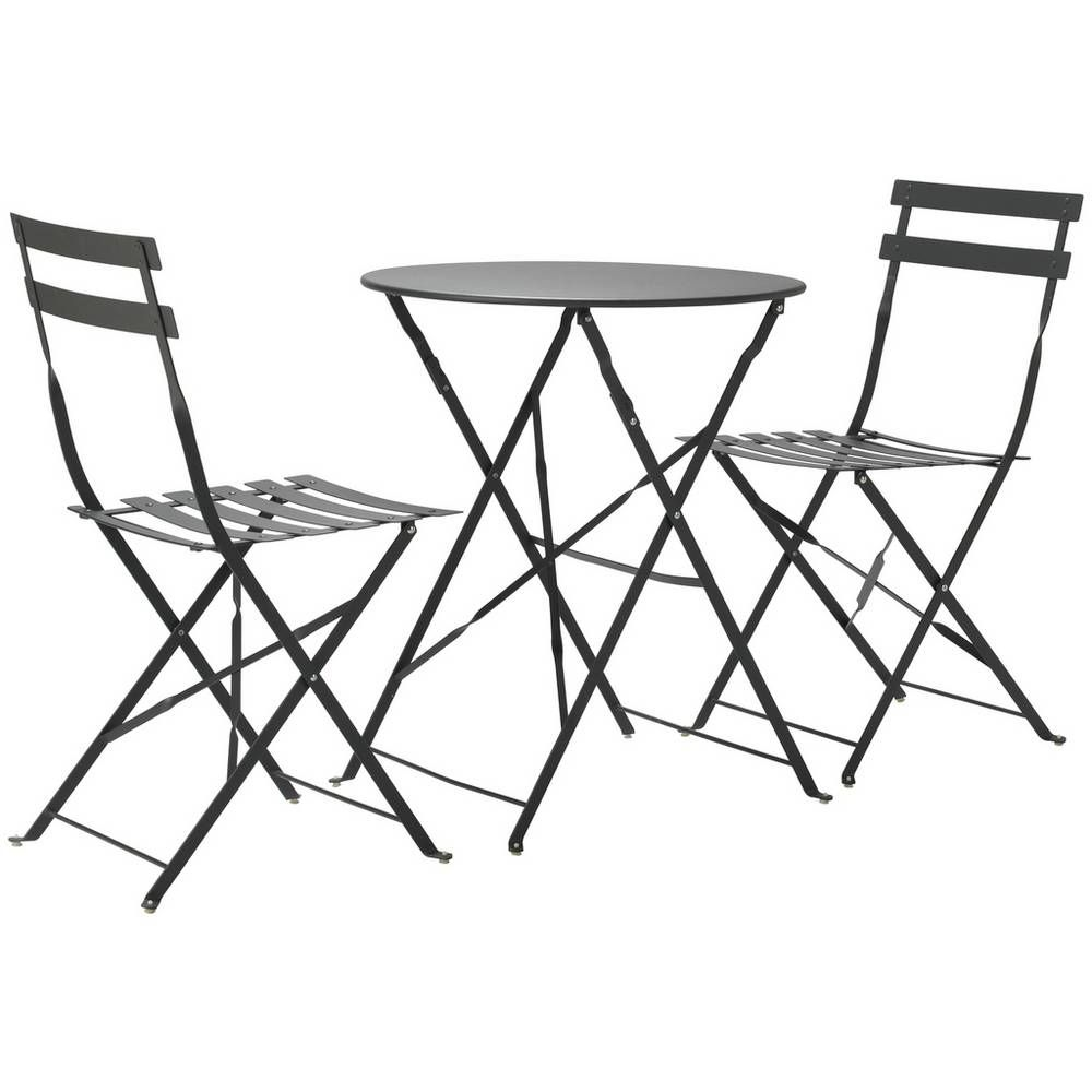 Argos Metal Garden Table And Chairs: Buy Argos Home Eve Folding 2 Seater Metal Bistro Set