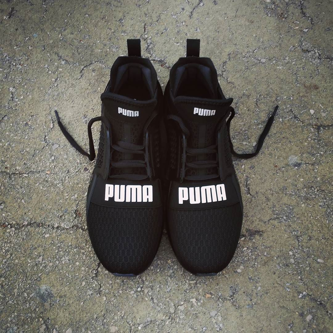 c84d4aded PUMA Ignite Limitless Triple Black | Products | Shoes, Puma sneakers ...