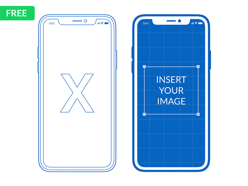 Free Iphone X Mockup For Powerpoint Keynote Iphone Mockup Powerpoint Free Iphone