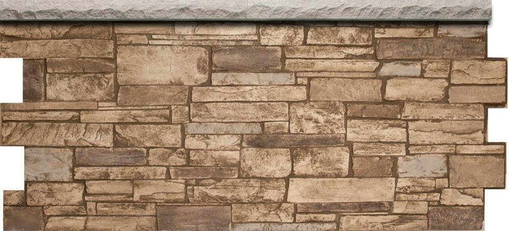 Ledgestone Wainscot Dp2730 In 2020 Faux Stone Sheets Ledgestone Wainscoting