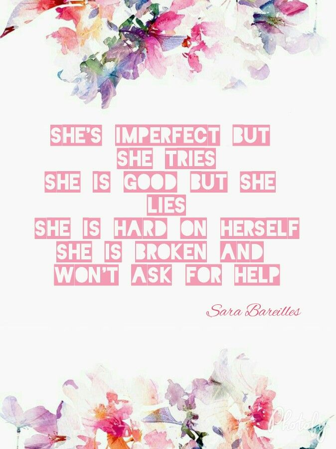 She used to be mine lyrics by sara bareilles | Nice Lyrics ...