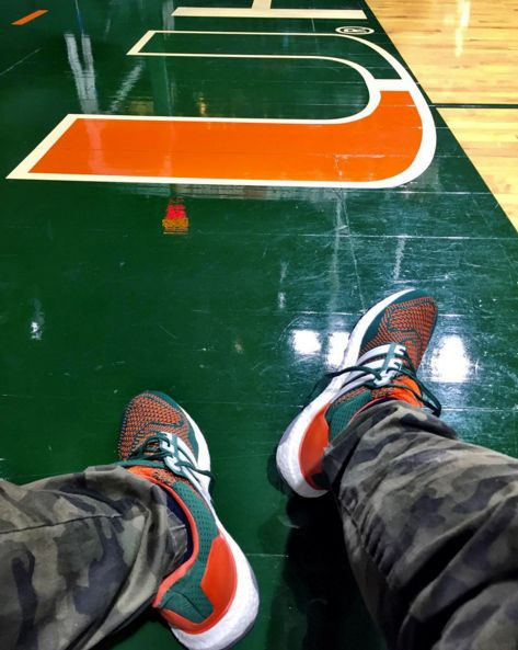 fc9f963c910 adidas Ultra Boost Miami Hurricanes PE | Sole Collector | SHOOS to ...