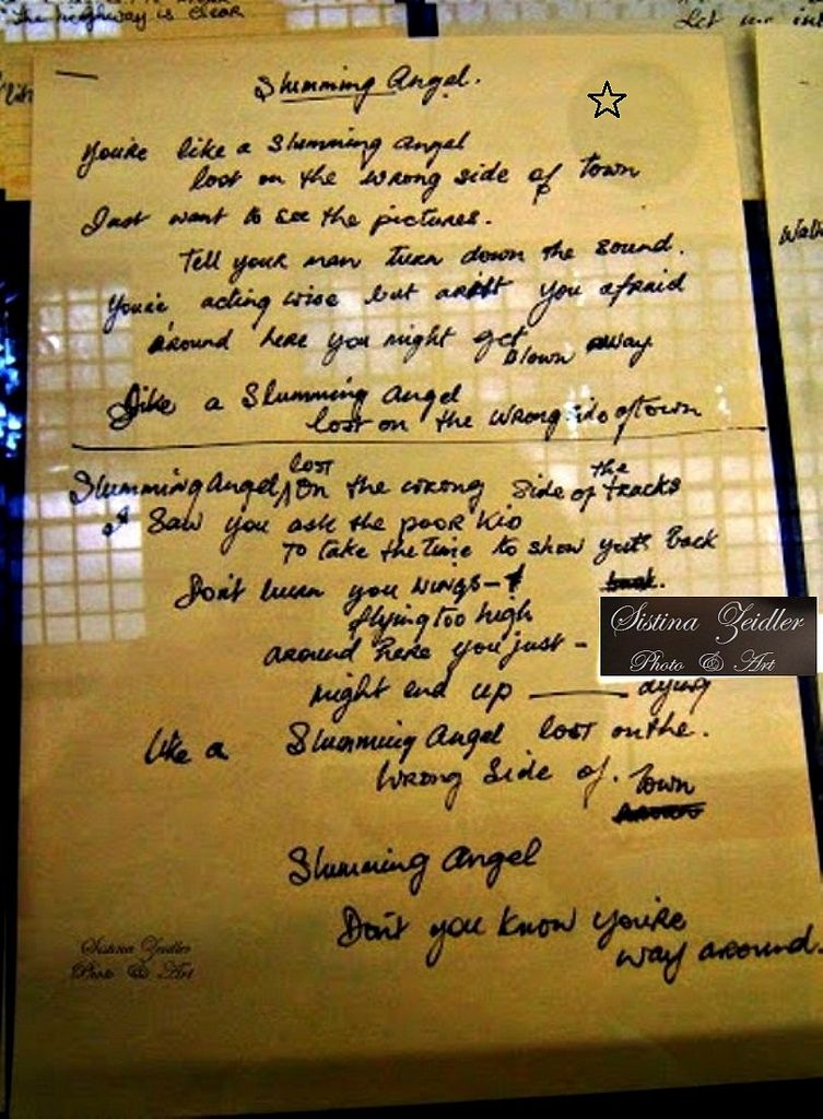 Lyric rory lyrics : Rory Gallagher - Original handwritten lyrics - © Photo & Art ...