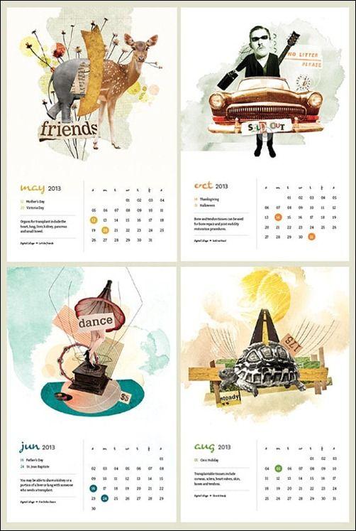 50 Cool And Unique Calendar Designs 2013 Calendar Design