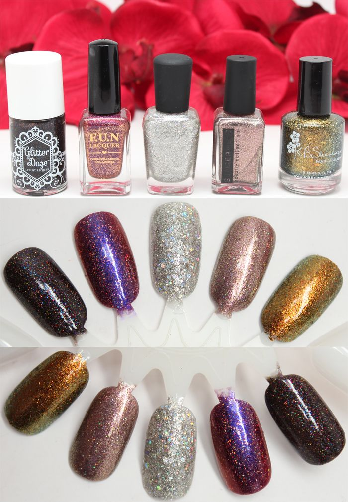 Easy Holiday Party Beauty Ideas | Beauty ideas, Holidays and Fun lacquer