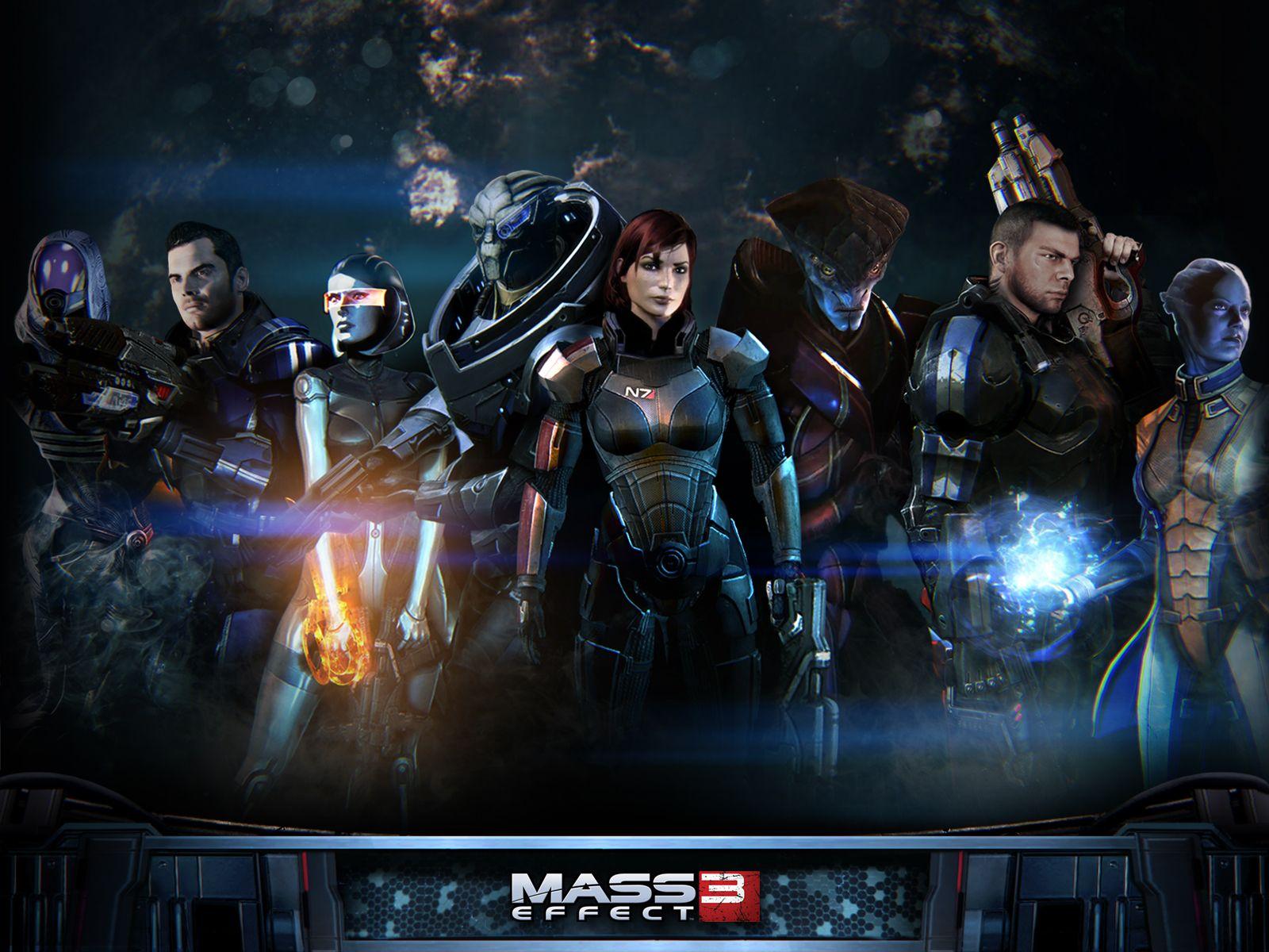 Femshep Wallpaper Wallpapersafari With Images Mass Effect
