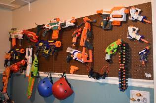 diy nerf dart storage - Google Search | Kids | Pinterest | Nerf darts,  Darts and Storage