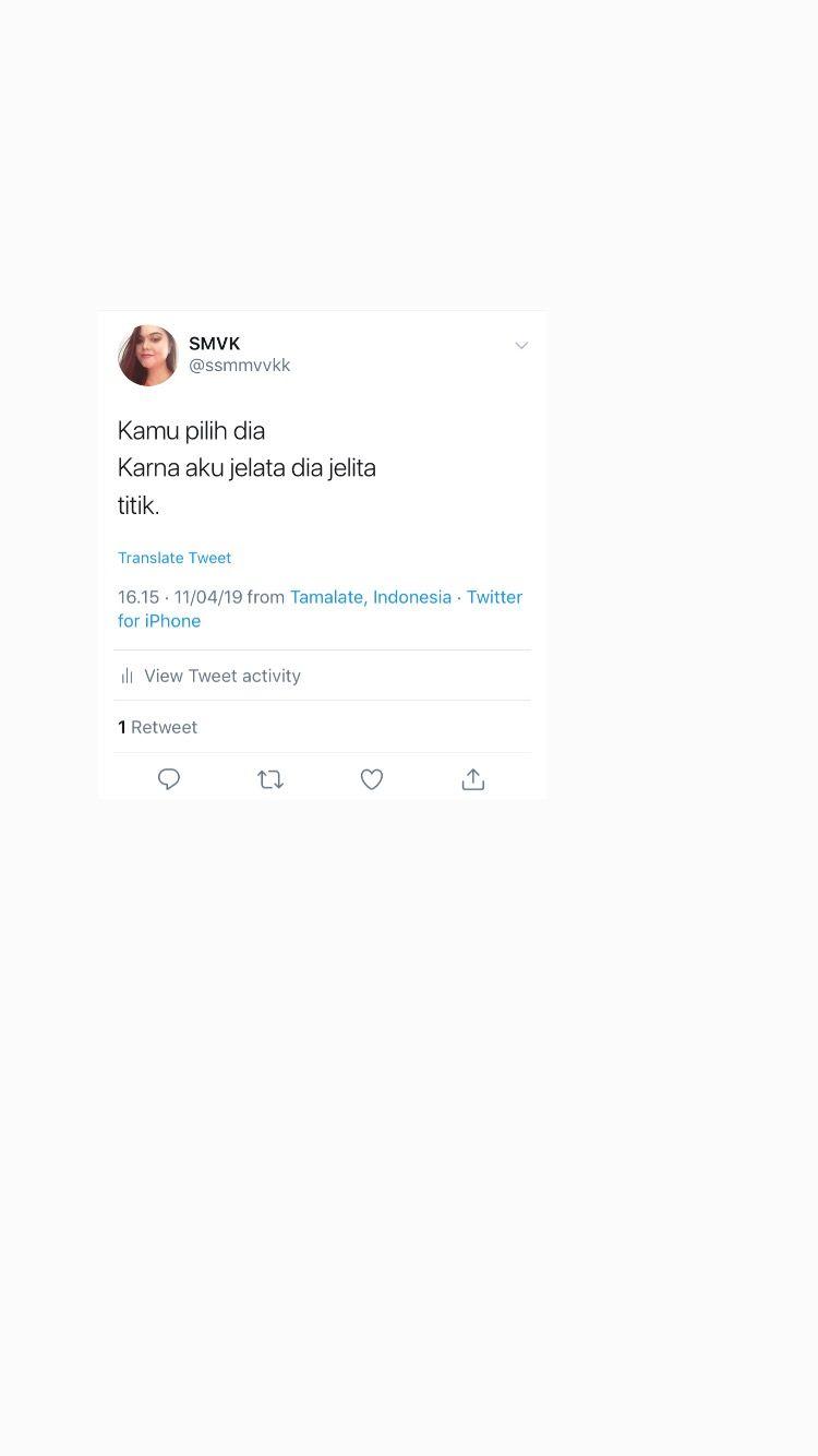 Screenshot Humor Twitter Receh Quotes Dengan Gambar Kata