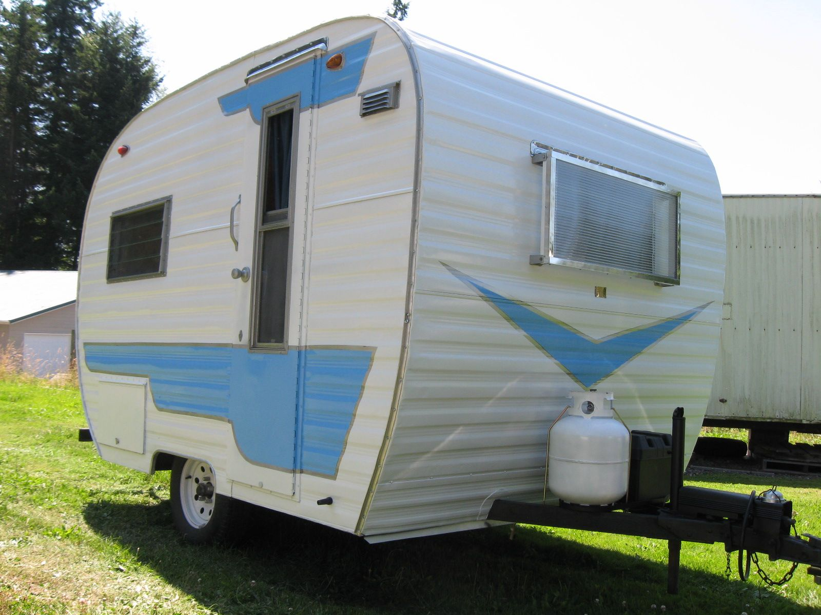 Restored 64 Cardinal Vintage Camper For Sale | Vintage Campers