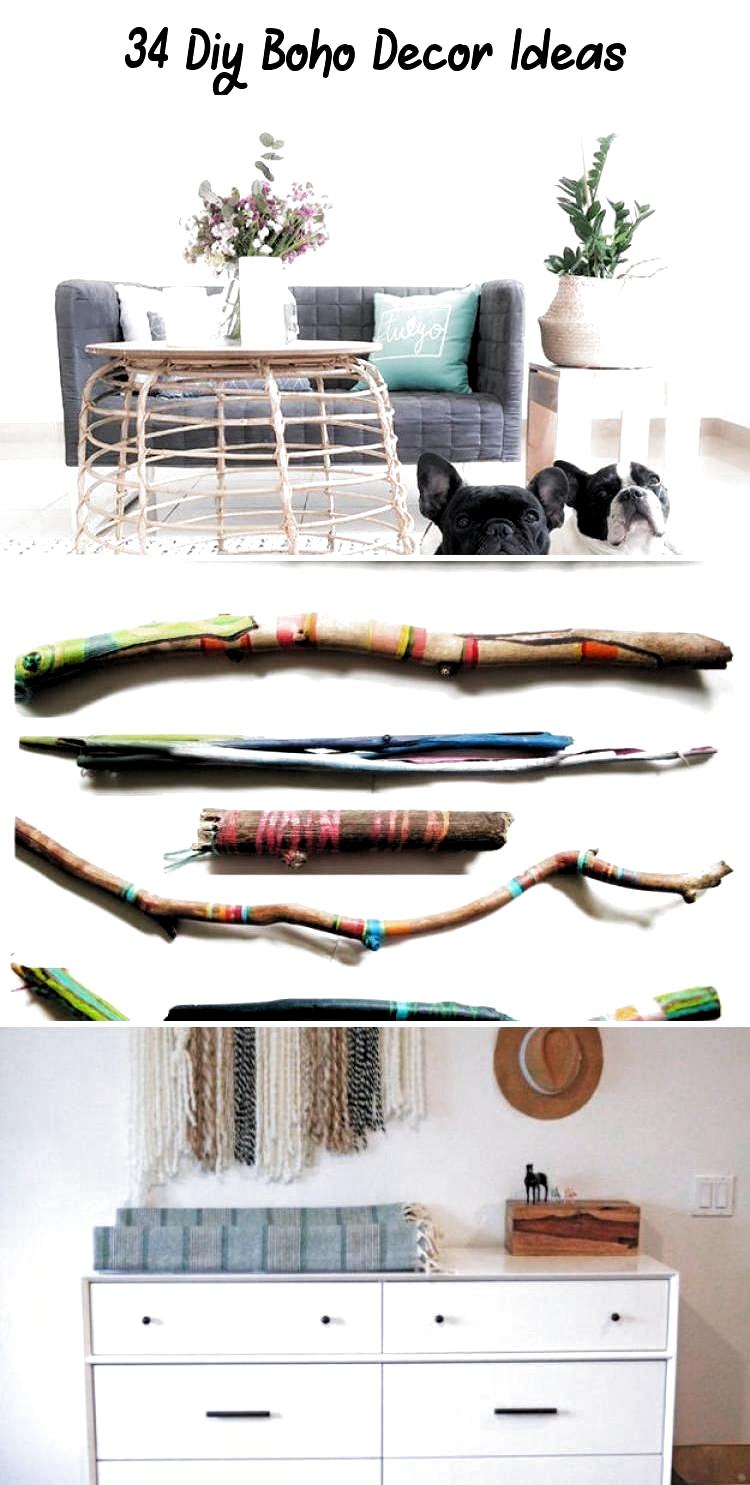 Photo of DIY Boho Decor Ideas – DIY Pom Pom Basket – DIY Bedroom Ideas – Cheap Hippie Cra…